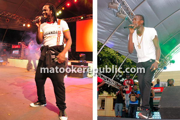 Bebe Cool and Jose Chameleone performed.