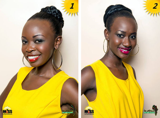 1. CHRISTINE TAYEBWA AGE: 22 DISTRICT: Kabale OCCUPATION: Student ROLE MODEL: Her father Mr. Monday. F REASON: He is a very hard working farmer who has supported me and has been there for me always.  2.SHARON AUMA. AGE:19. OCCUPATION: Student  ROLE MODEL: Betty Bigombe.  REASON:  A strong woman who made the north proud.