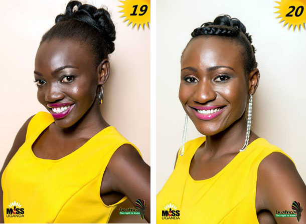 19. SALUME LETITIA ACHOLA, AGE: 23, DISTRICT: Lira, OCCUPATION: Unemployed ROLE MODEL: Her mother, REASON: She is my mentor. 20. YASMIN TABAN, AGE: 19, DISTRICT: Koboko, OCCUPATION: Student ROLE MODEL: Oprah Winfrey, REASON: She has changed many people's lives in a positive way.