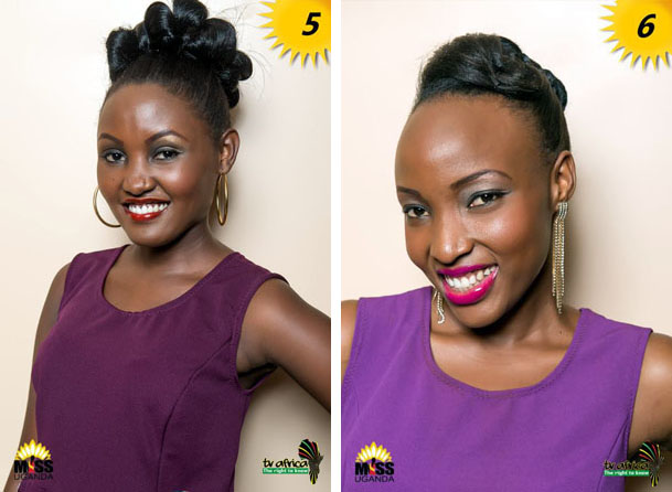 5. SHILLA KALUNGI AGE: 21, OCCUPATION: Student role model Maggie Kigozi She is a woman of great character and value. 6. ME: RITAH ELIZABETH NAMUBIRU AGE: 21 DISTRICT: Wakiso OCCUPATION: Student ROLE MODEL: Hon: Rebecca Kadaga REASON: She is exemplary and a woman Leader.
