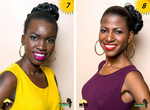 7. CHRISTINE LETIO, AGE: 22, DISTRICT: Adjumani, OCCUPATION: Youth facilitator ROLE MODEL: Her mother, REASON: She is an amazing hardworking and lady of substance. 8. NURAH NANTUME, AGE : 22, DISTRICT: Masaka,OCCUPATION: A casher at kitchen one in Naalya ROLE MODEL: Nabagereka Silvia Najjinda, REASON: I adore her self-respect and her effort to preserve culture through her project of ekyisakati.