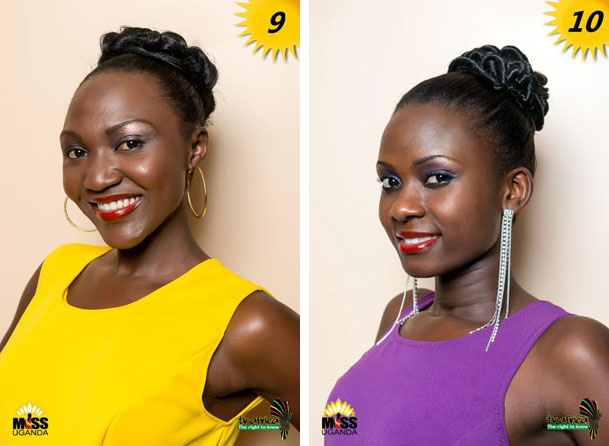 9. FLAVIA CONSTANCE IBYARA, AGE: 23, DISTRICT: Kaberamaido, OCCUPATION: Voluteer at Kyamuwendo Children's Home ROLE MODEL: Her mother, REASON: Her compassion and love. 10. MABEL NAMALA, AGE: 22, DISTRICT: Mpigi, OCCUPATION: Health worker ROLE MODEL: Her father, REASON: He is my rock.