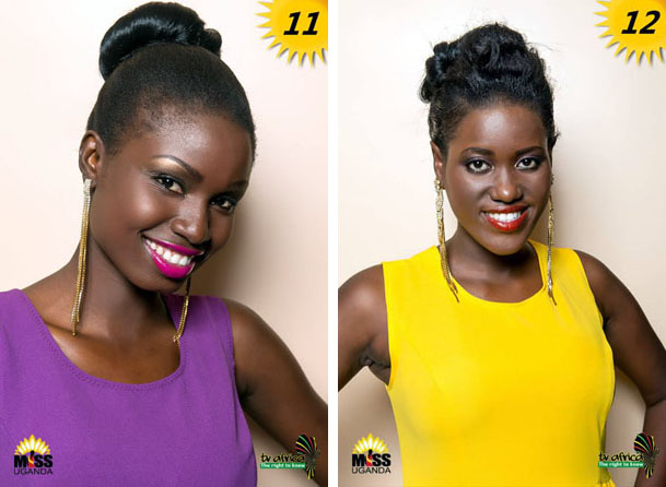 11. QUEEN VICTORIA OWAKIRO, AGE: 20, DISTRICT: Lira, OCCUPATION: Student ROLE MODEL: Nabagereka Sylvia Nagginda, REASON: Her preservation of culture and charity work done. 12. NAME: CAROLINE NANTAMBI, AGE: 21, DISTRICT: Masaka, OCCUPATION: Student ROLE MODEL: Lupita Nyong'o, REASON: She is a Kenyan actress, now based in the USA whose road to success inspires me a lot.