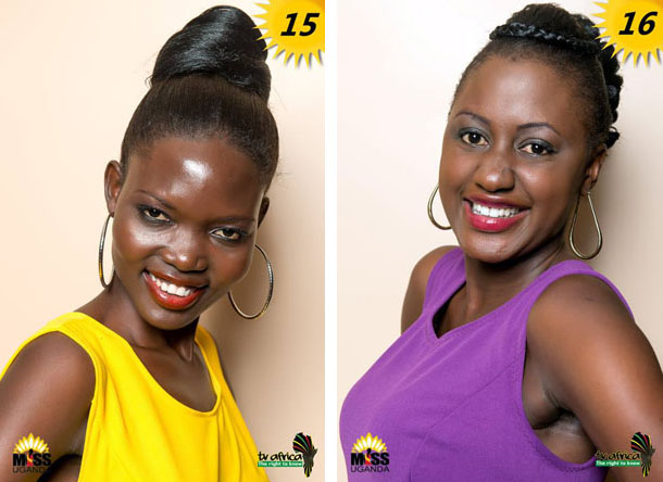 15. FLAVIA ALOYO, AGE: 24, DISTRICT: Gulu,OCCUPATION: Volunteer at straight talk gulu ROLE MODEL: Her mother, REASON: Graceful, caring and a hard working lady 16. PENELOPE NANKUNDA, AGE: 21, DISTRICT: Mbarara,OCCUPATION: Student ROLE MODEL: Her mother, REASON: she is hard working, principled and focused.