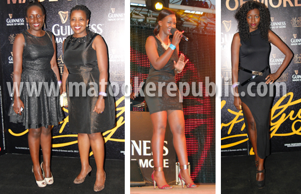 UBL's Phoebe Nakabazzi and Grace Nshemeire, event MC Flavia Tumusiime and NTV Login host Robin Kisti.